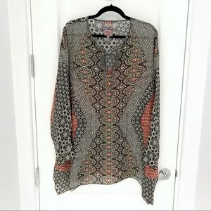 Johnny Was Rayon Patterned Tunic
